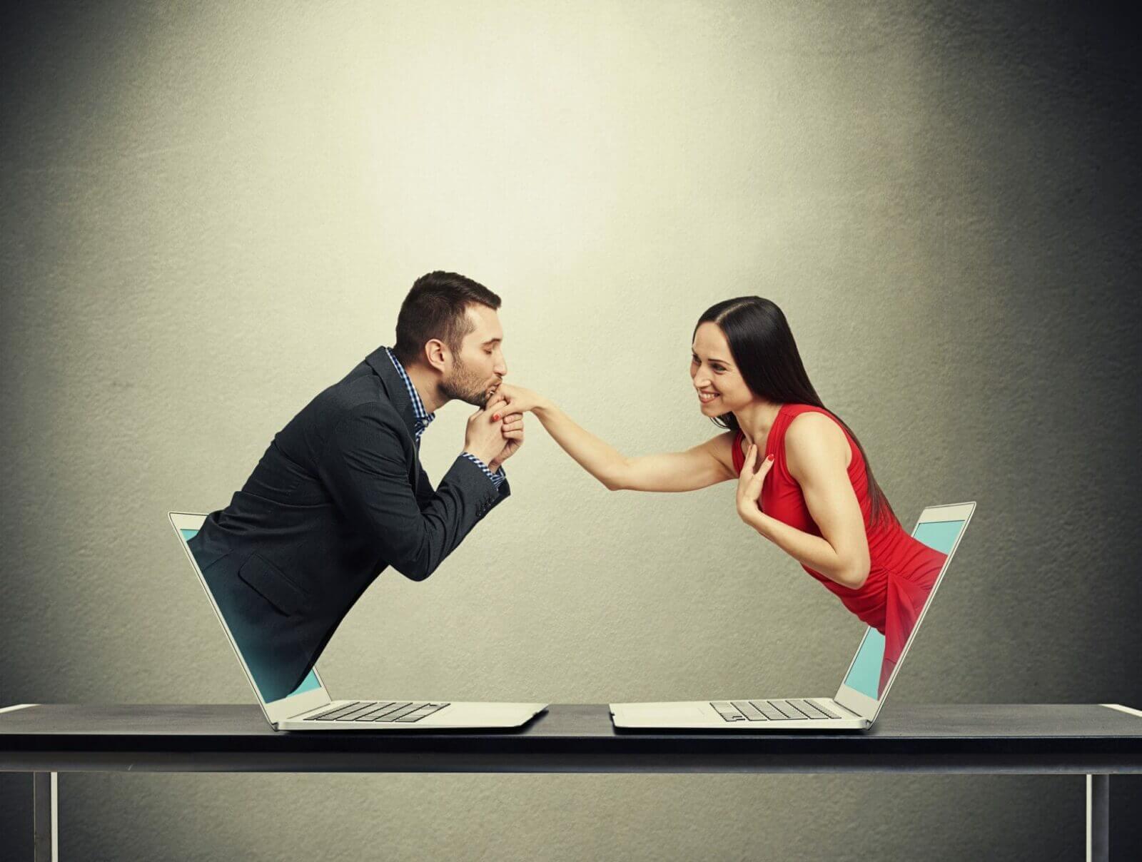 Online Dating Liebe sicher Spaßfaktor