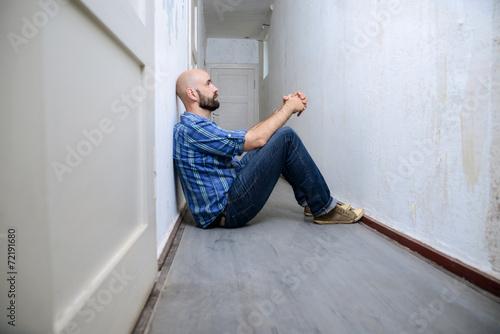 Einsamer Mann Unterhaltung Symapthische