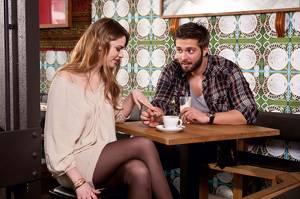 Flirten mit Frau Junggesellenabschied Freund Französischer
