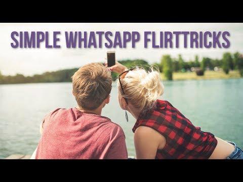 Flirten mit Mädchen Machen