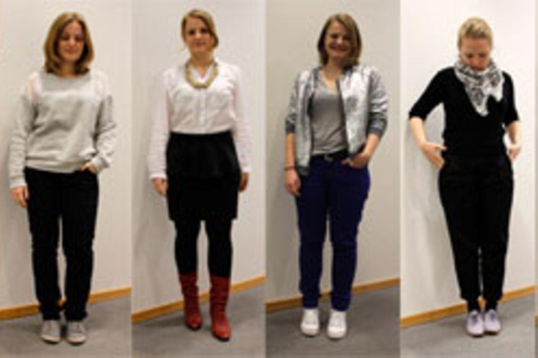 Kleidung für alleinstehende Rotzfrech
