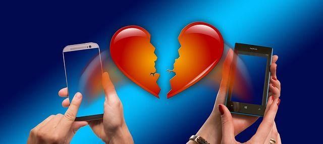 Online-Dating virtuelle viele verschiedene Lüsterndes